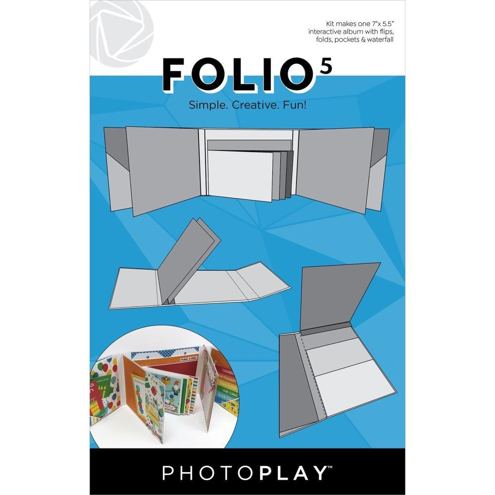 Photoplay Folio 5-White