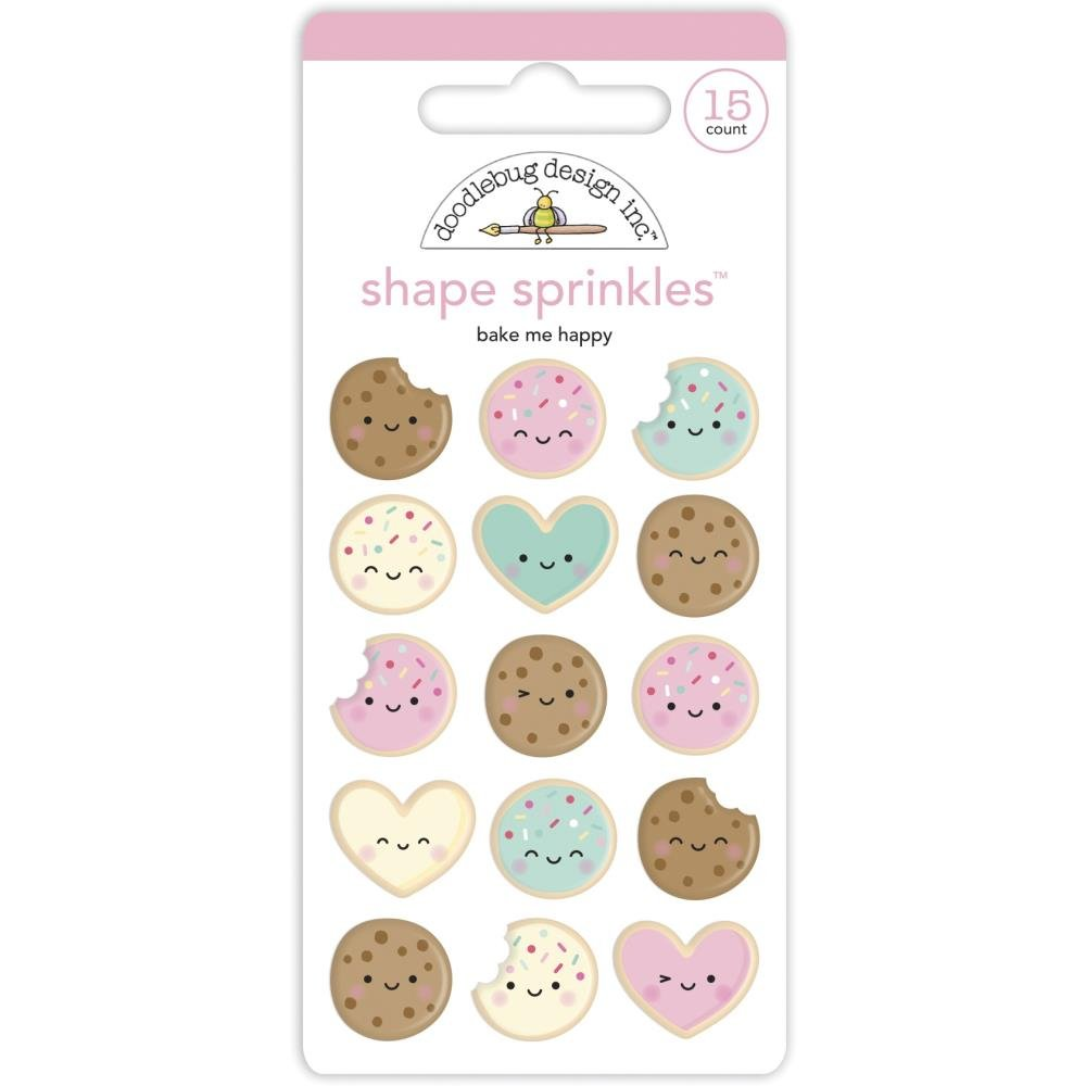 Made With Love Enamel Shapes-Bake Me Happy