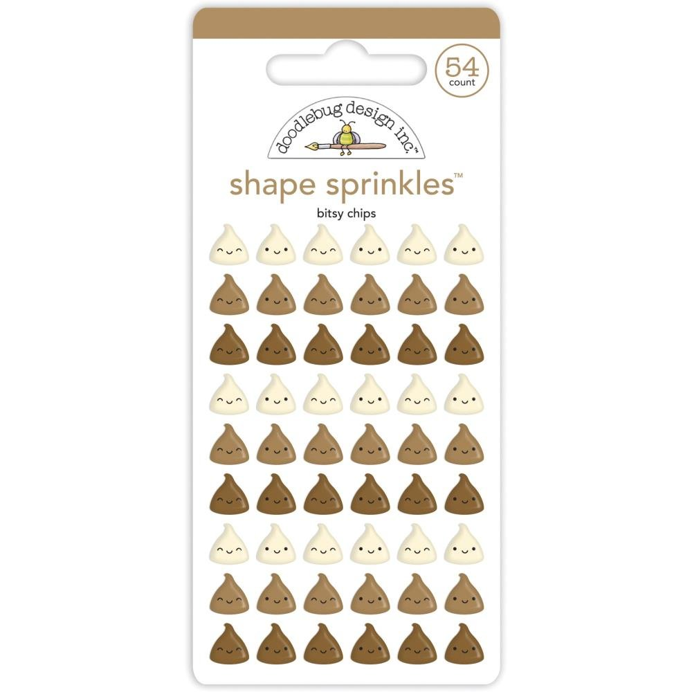 Made With Love Enamel Shapes-Bitsy Chips
