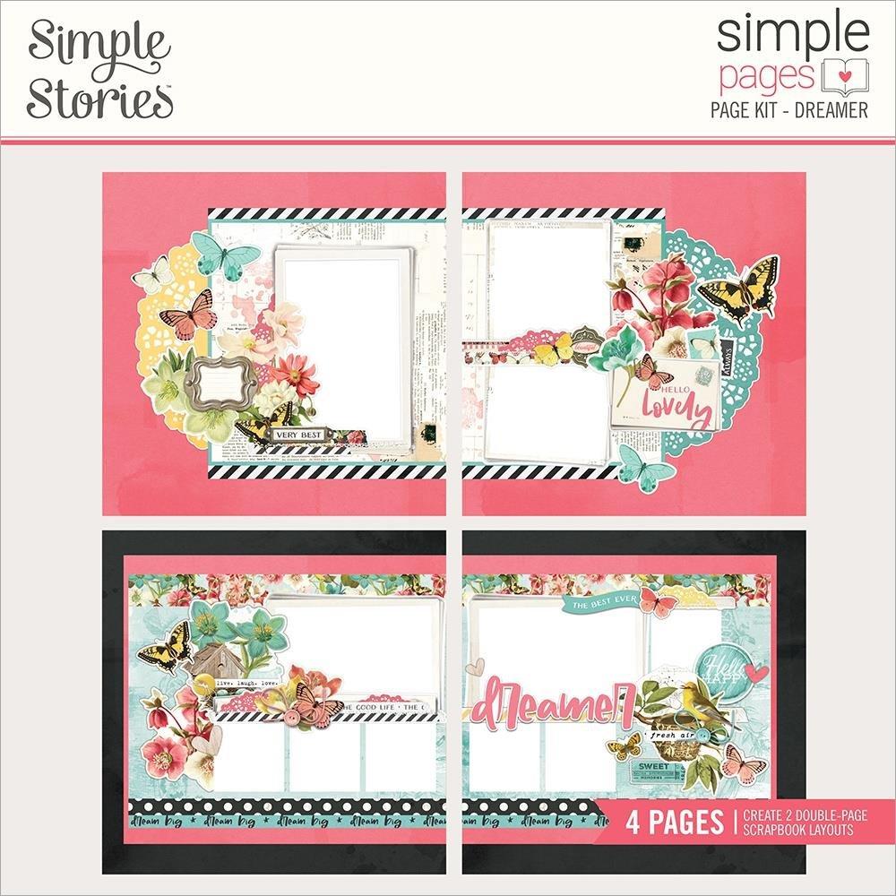 Simple Vintage Cottage Fields Dreamer Pages Kit