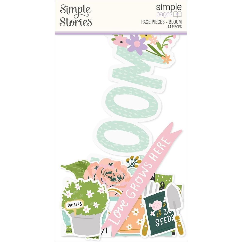 Bunnies & Blooms Page Pieces