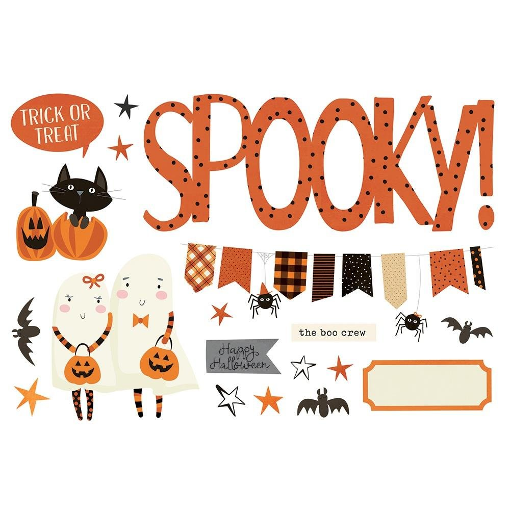 Simple Page Pieces-Halloween