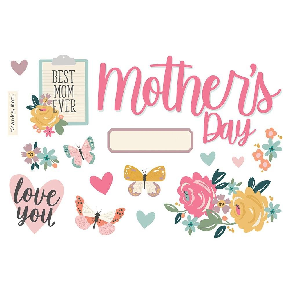 Simple Page Pieces-Mother's Day