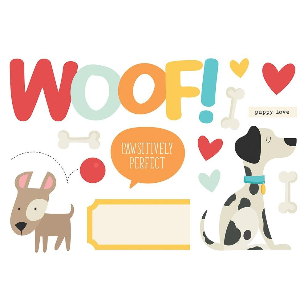 Simple Page Pieces-Woof