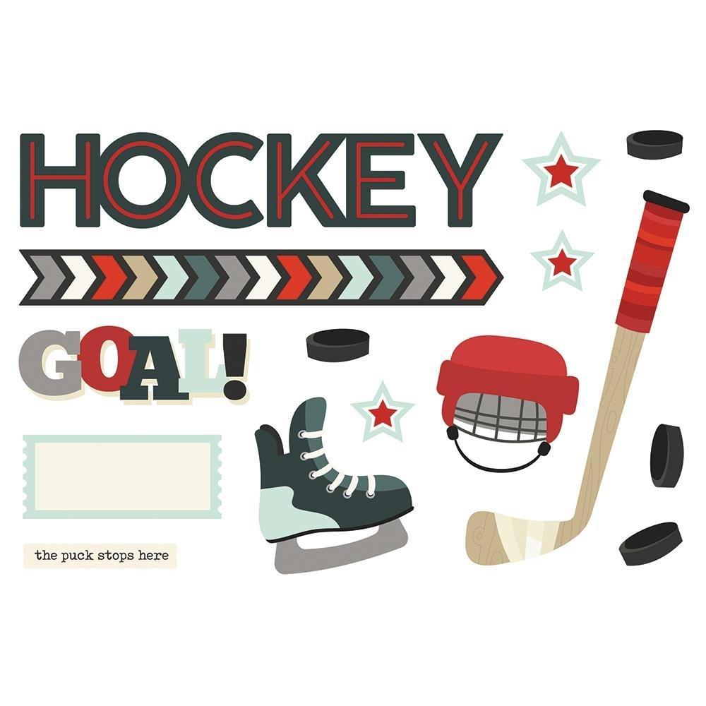 Simple Page Pieces-Hockey