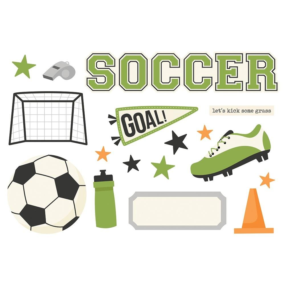 Simple Page Pieces-Soccer