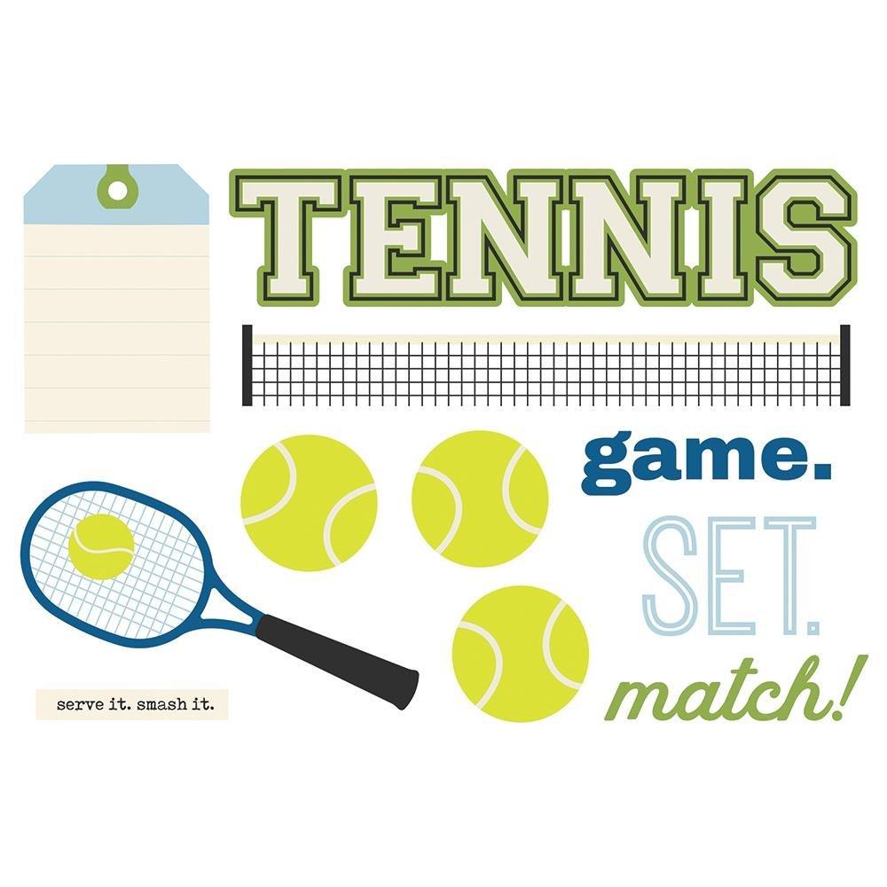 Simple Page Pieces-Tennis