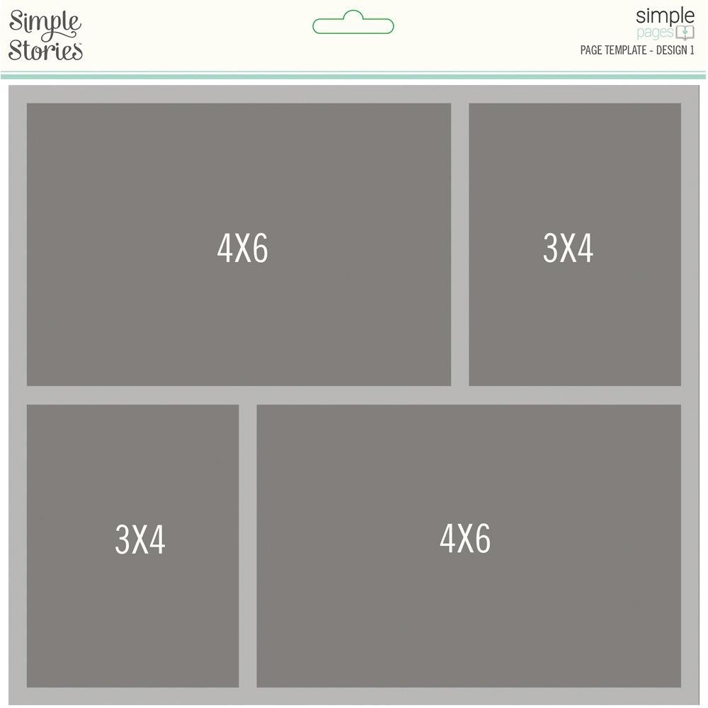 Simple Page Template-Design 1