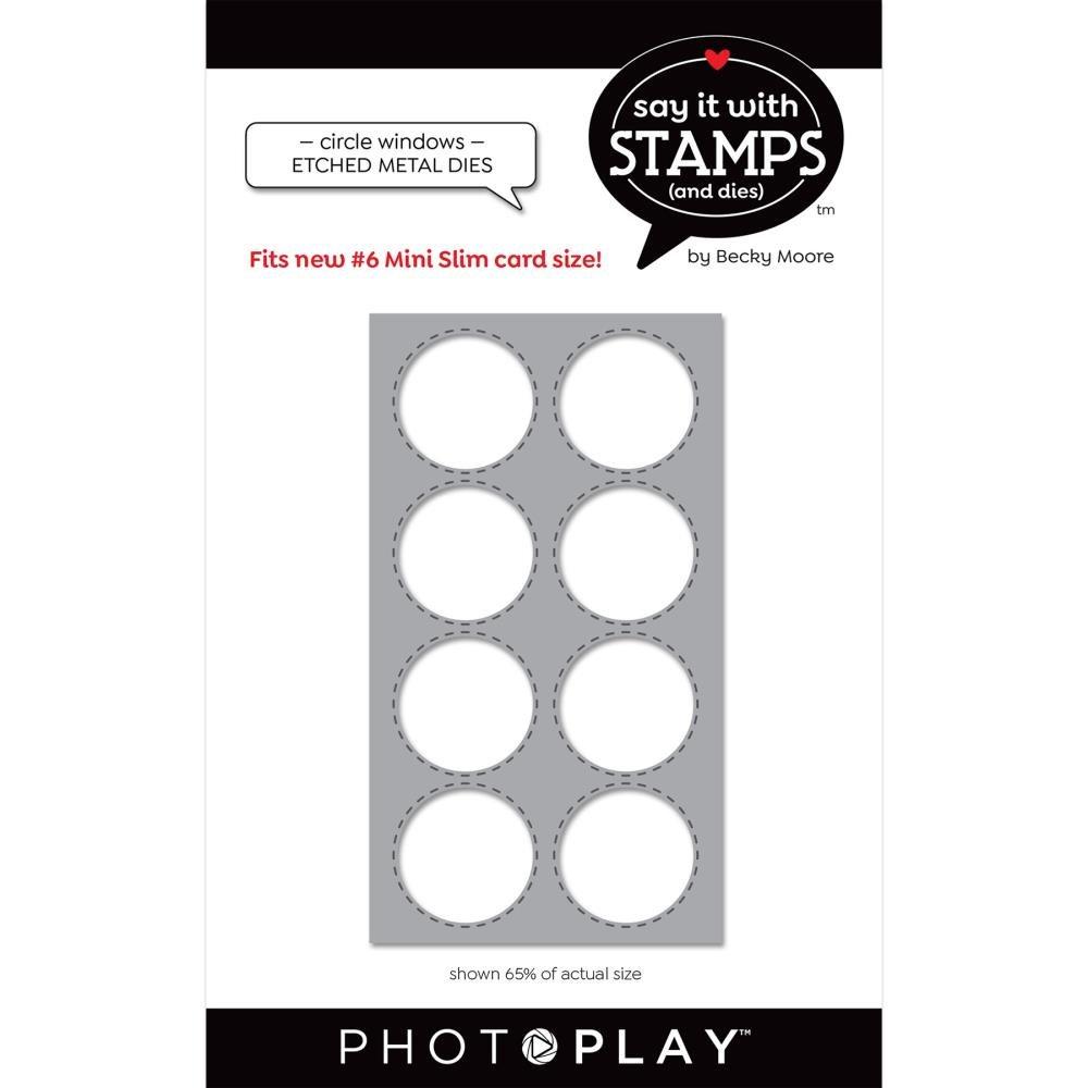 Say It With Stamps-#6 Circle Windows Die