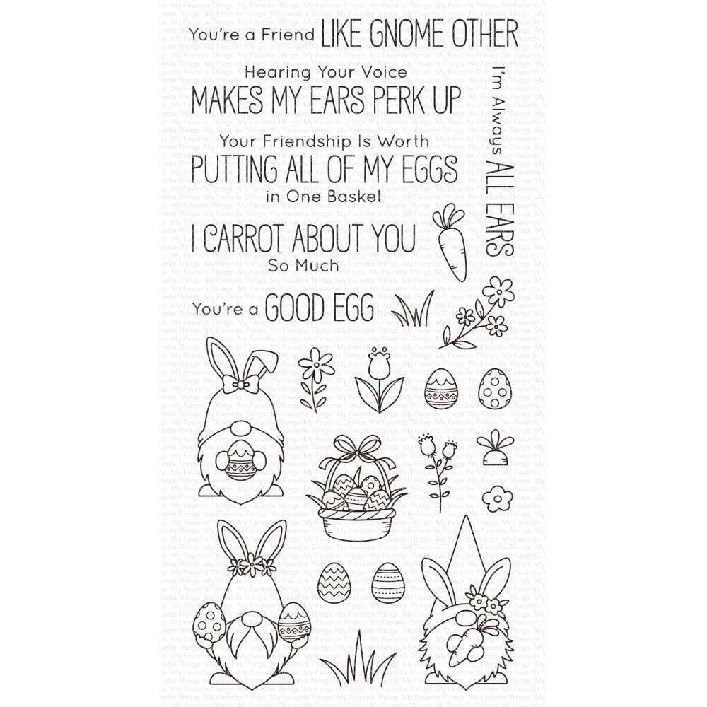 My Favorite Things-Spring Gnomes Stamp & Die Bundle