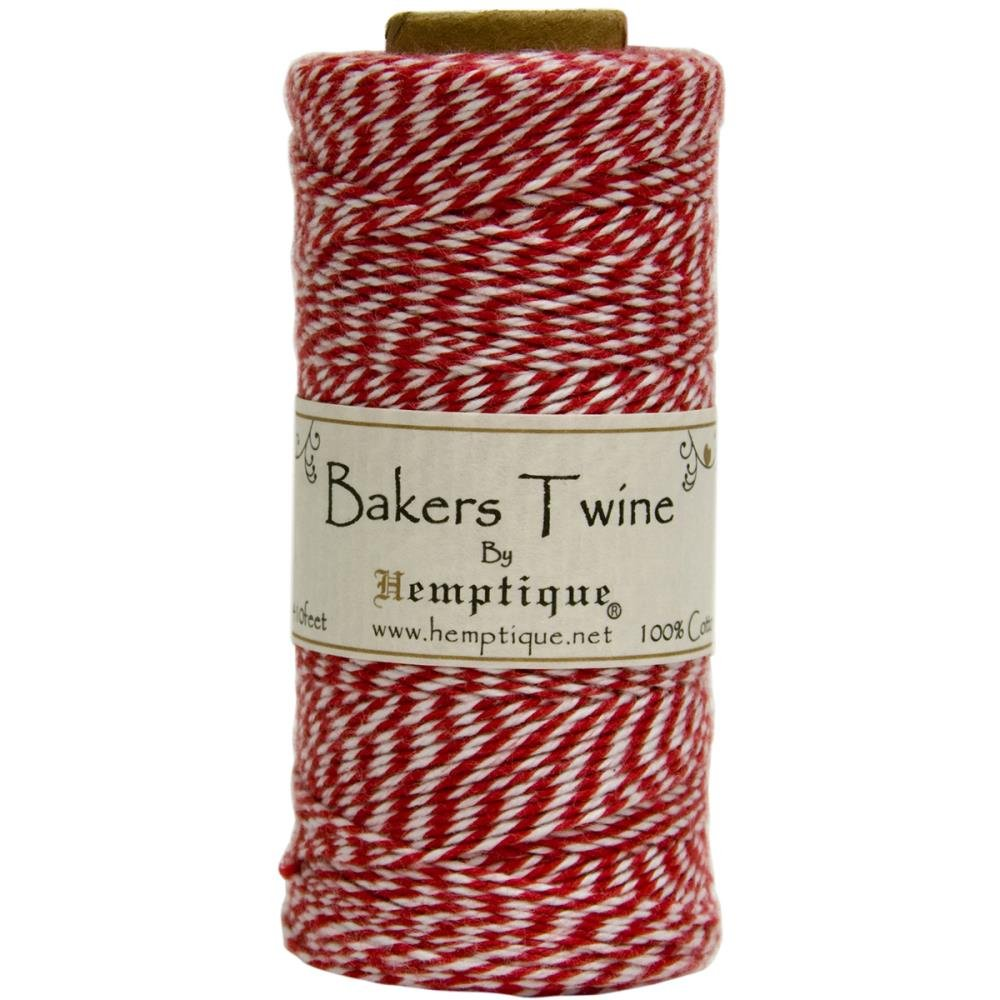 Baker's Twine (by the yard)-Red & White
