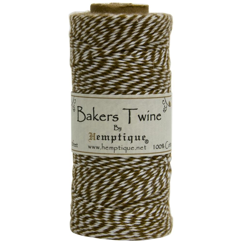 Baker's Twine (by the yard)-Brown & White