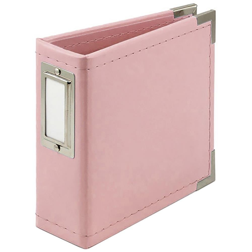 We R Memory Keepers 4x4 Album-Pretty Pink