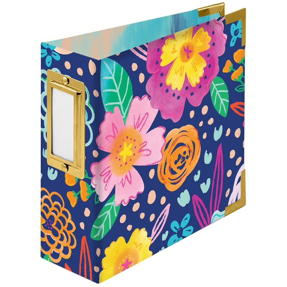 We R Memory Keepers 4x4 Album-Floral By Paige Evans