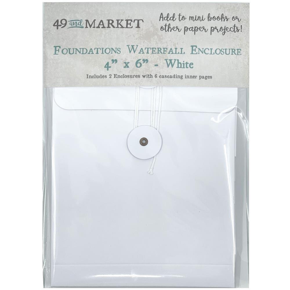 49 & Market Foundations Waterfall Enclosure 4X6