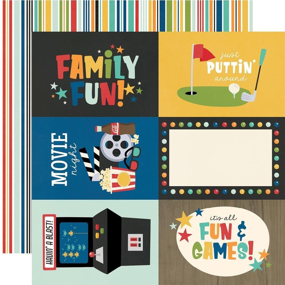 Family Fun-4x6 Elements