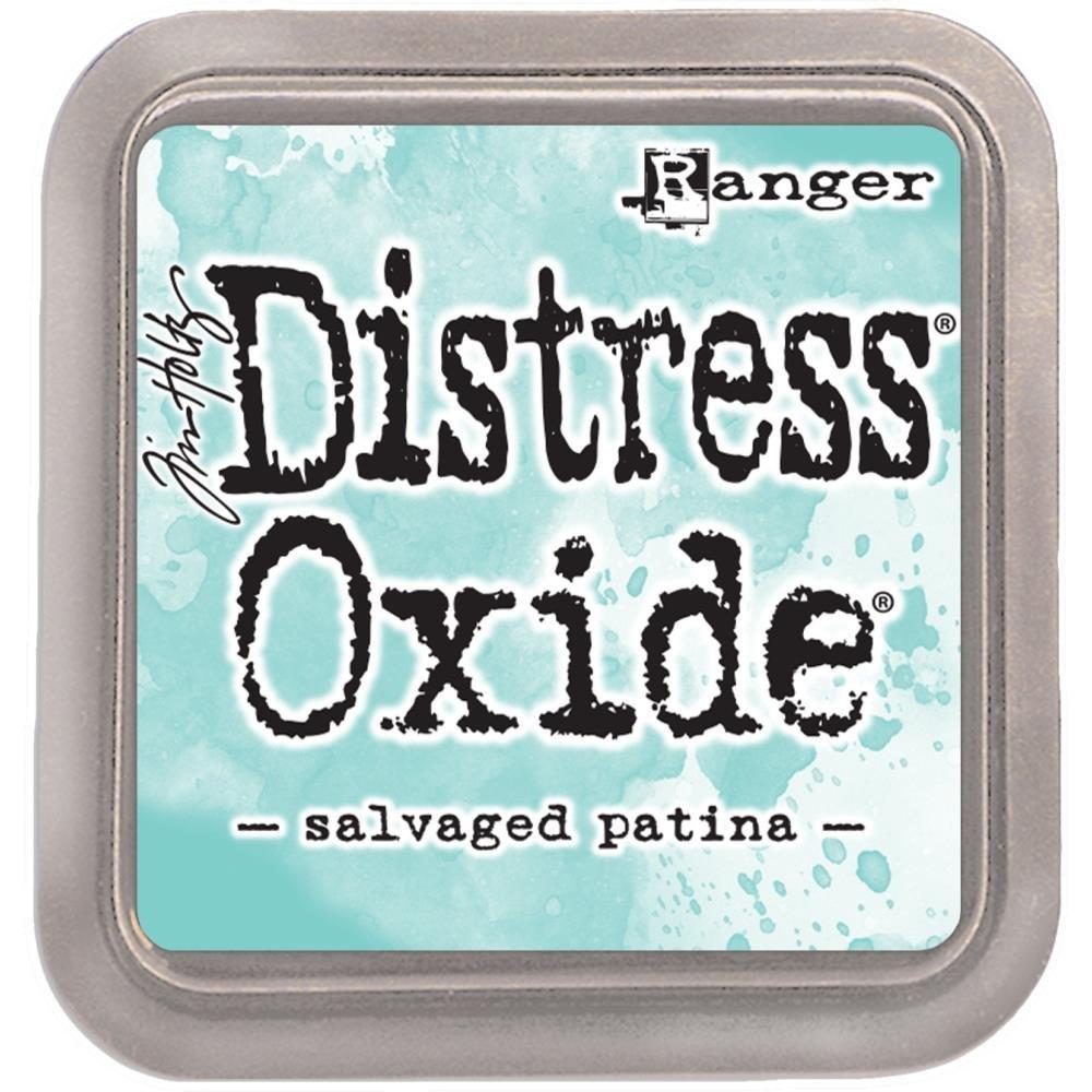 Tim Holtz Distress Oxide Ink-Salvaged Patina