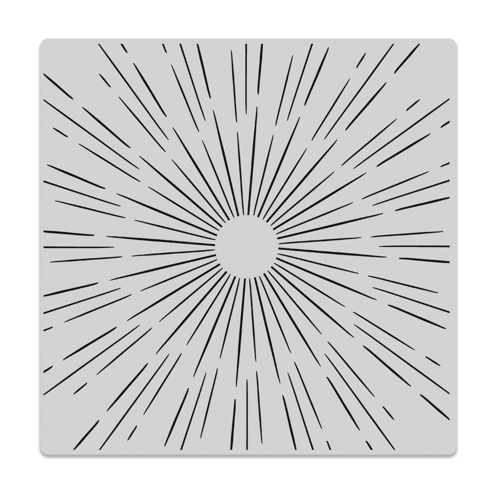 Hero Arts-Sun Ray Bold Prints Stamp