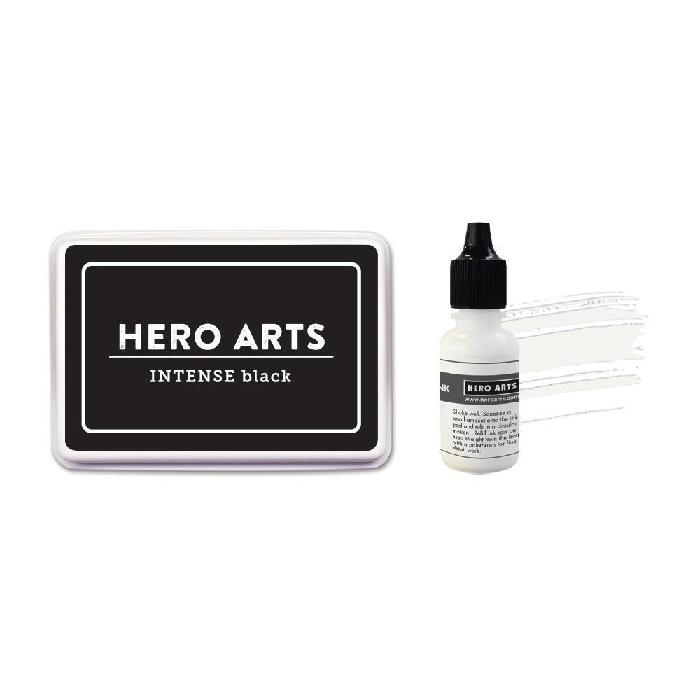 Hero Arts Ink & Reinker-Intense Black