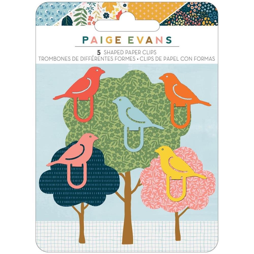 Paige Evans Bungalow Lane Shaped Paper Clips