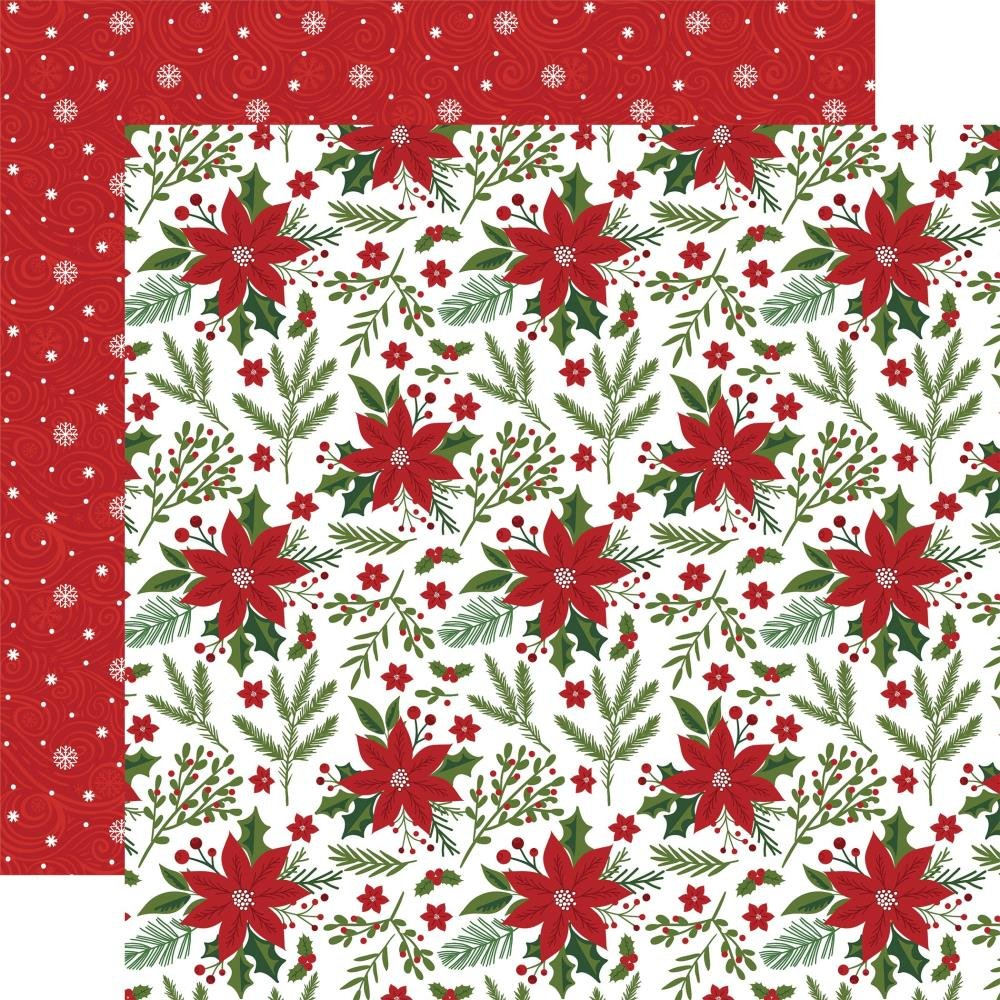 Christmas Magic-Pretty Poinsettias