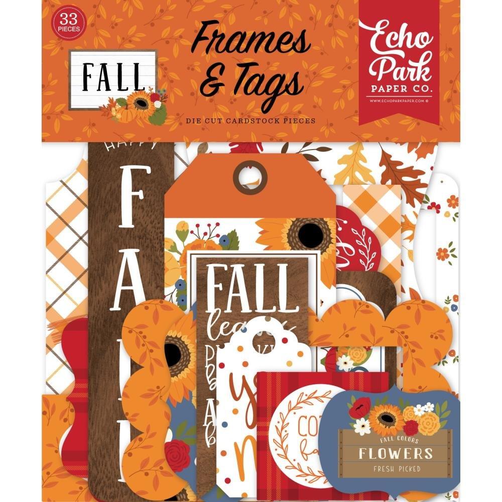 Fall Ephemera Frames & Tags