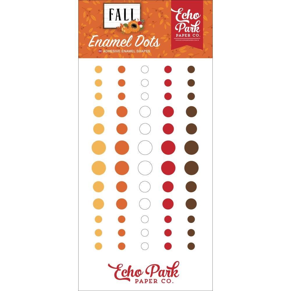 Fall Enamel Dots