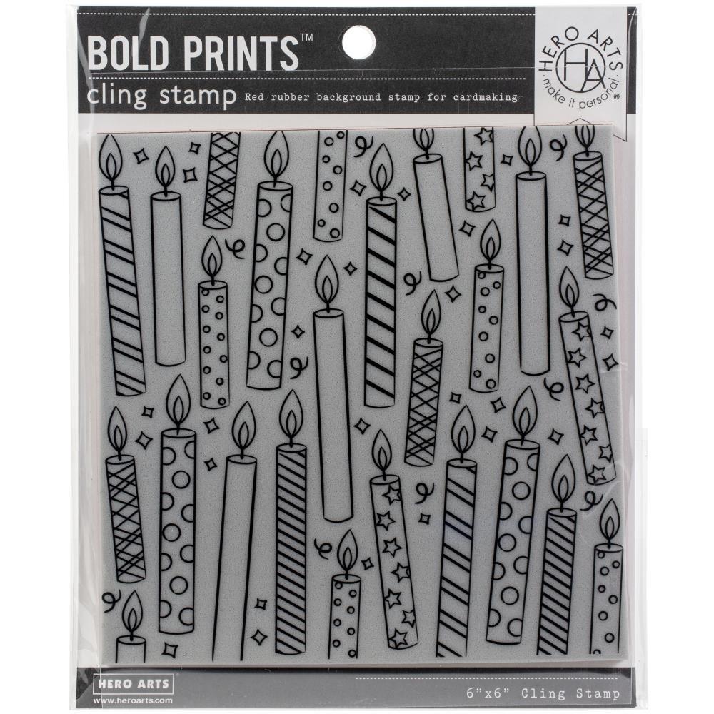 Hero Arts-Candles Bold Prints
