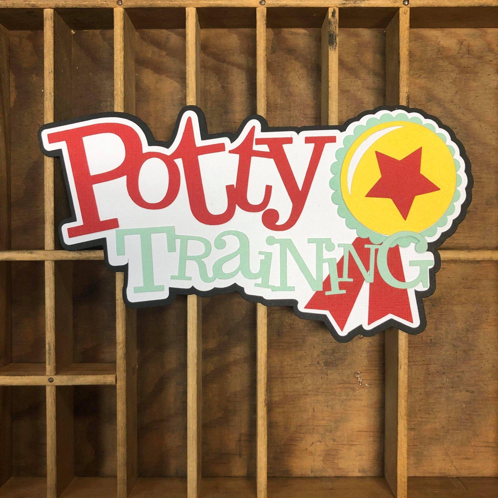 Custom Die-Cut-Potty Training