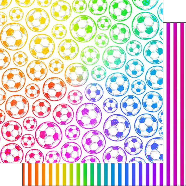 Soccer Neon-Paper 2