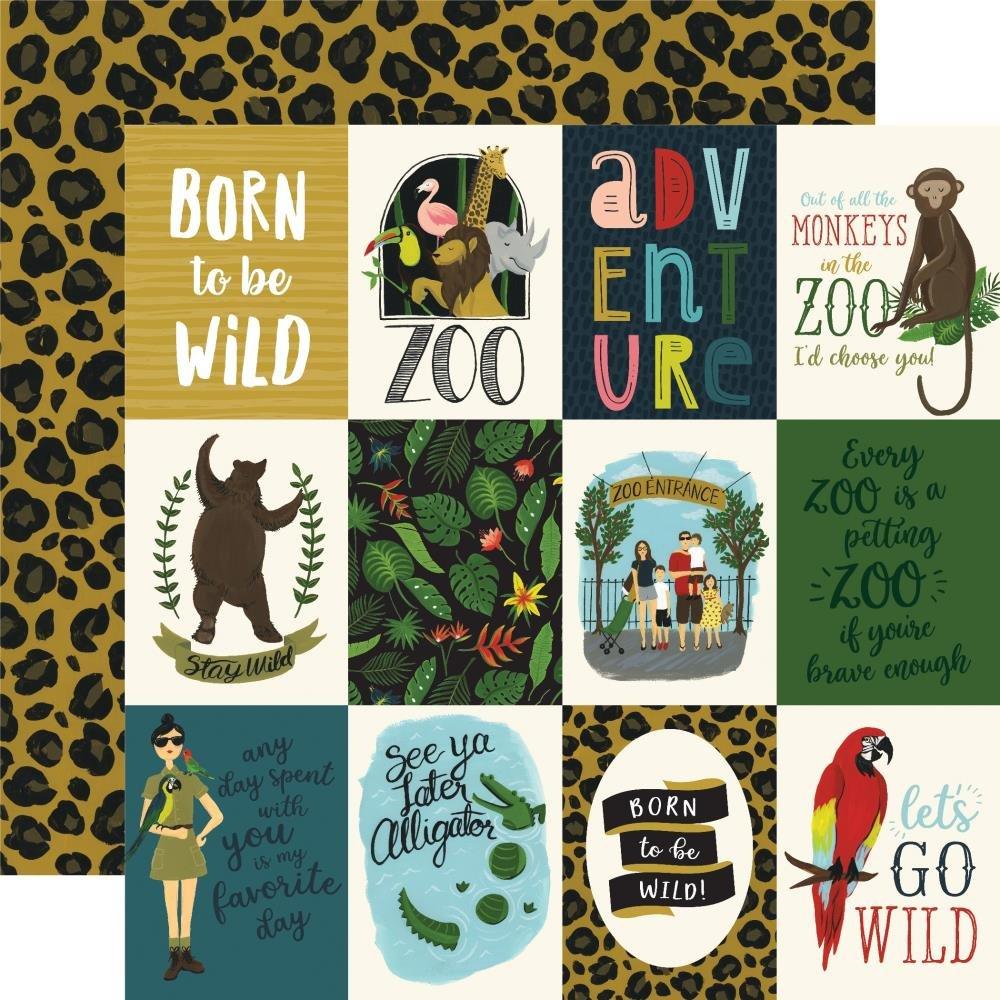 Animal Safari-3x4 Journaling Cards