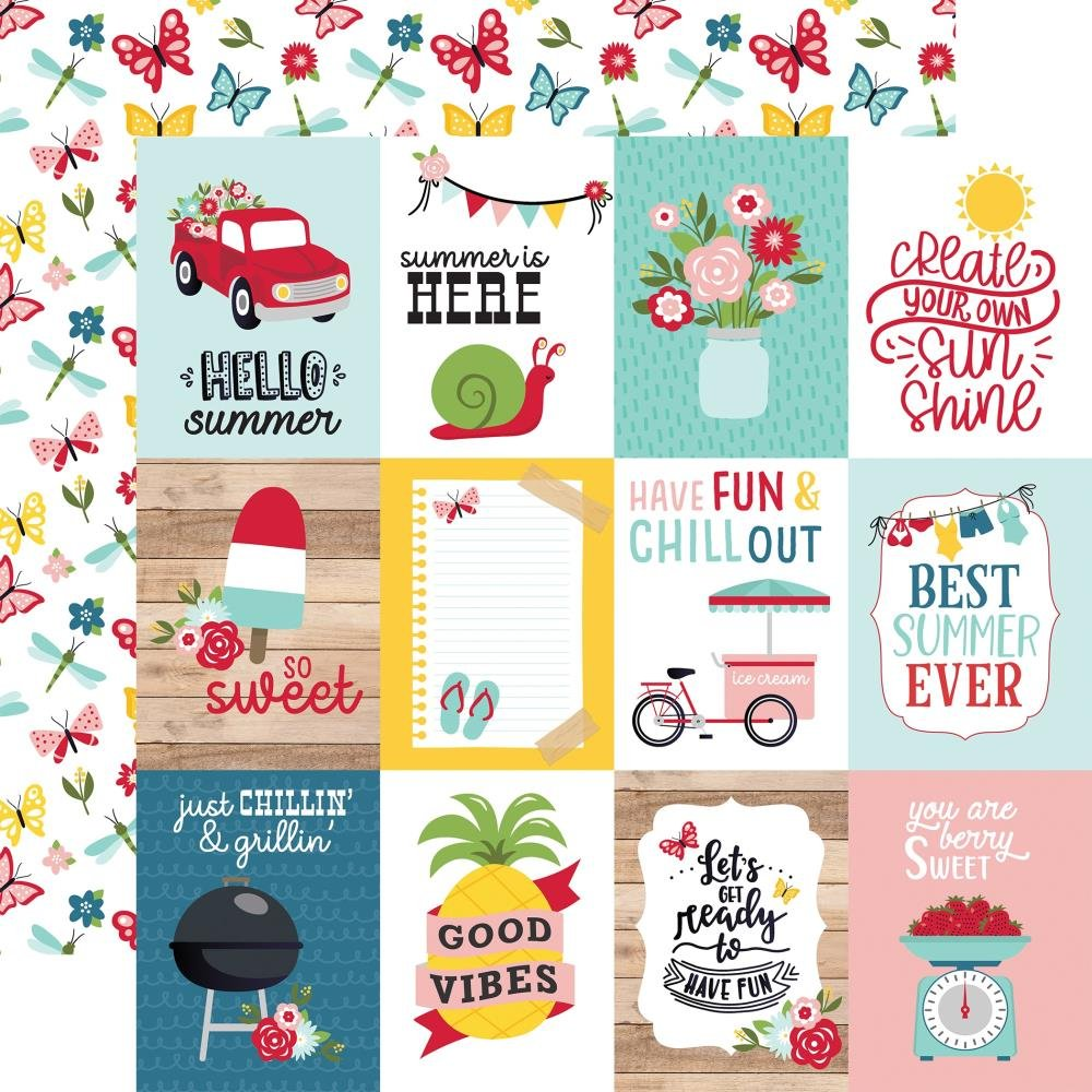 A Slice Of Summer-3x4 Journaling Cards