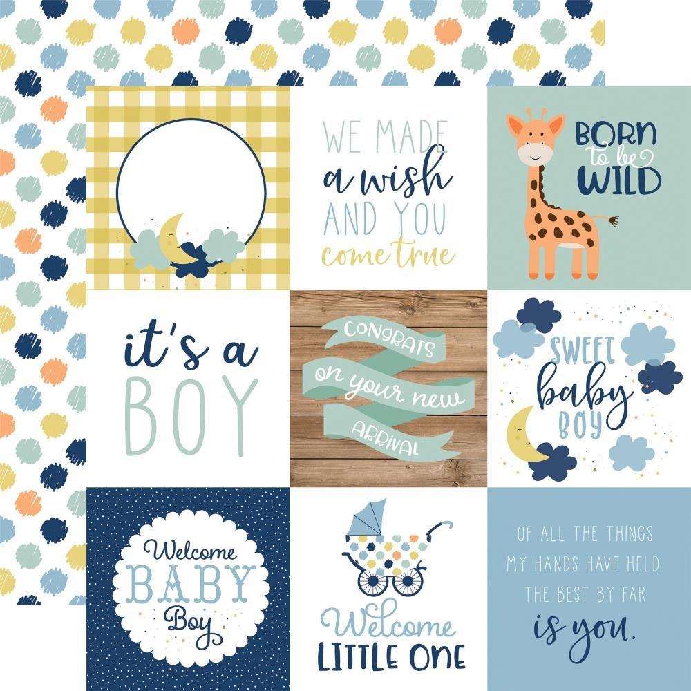 Baby Boy-4x4 Journaling Cards