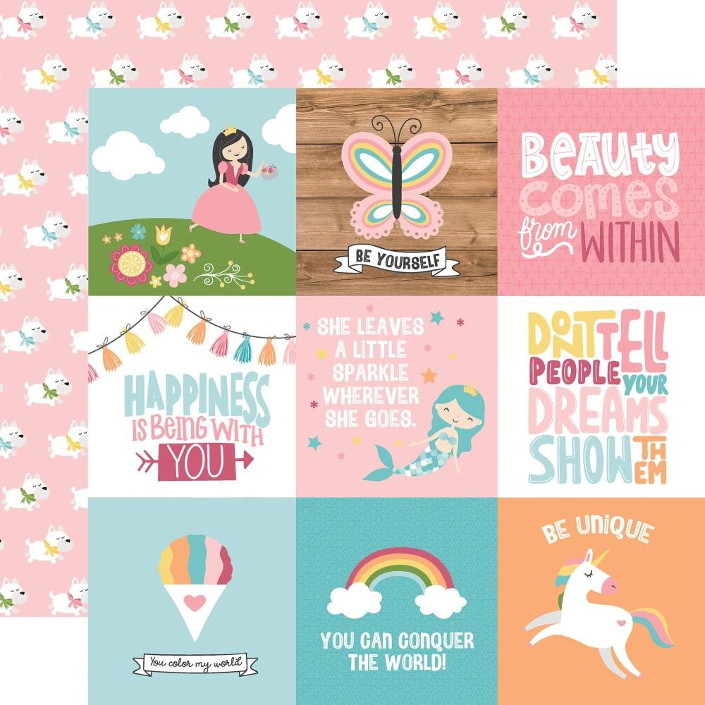 All Girl-4x4 Journaling Cards