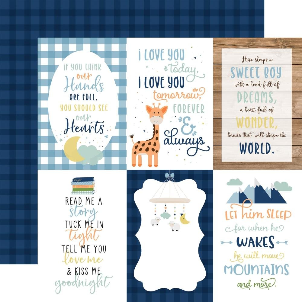 Baby Boy-4x6 Journaling Cards