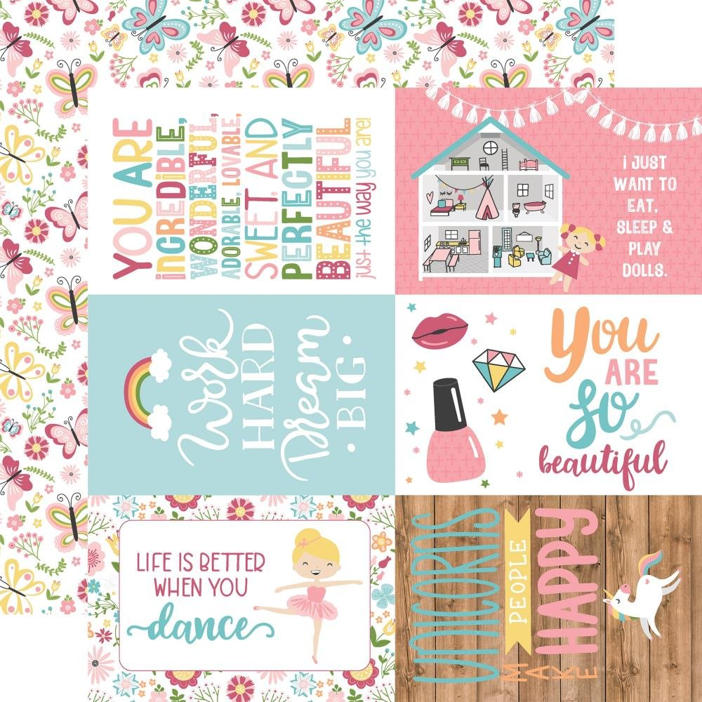All Girl-4x6 Journaling Cards