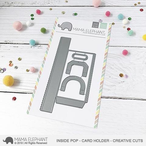 Mama Elephant-Inside Pop Gift Card Holder Die