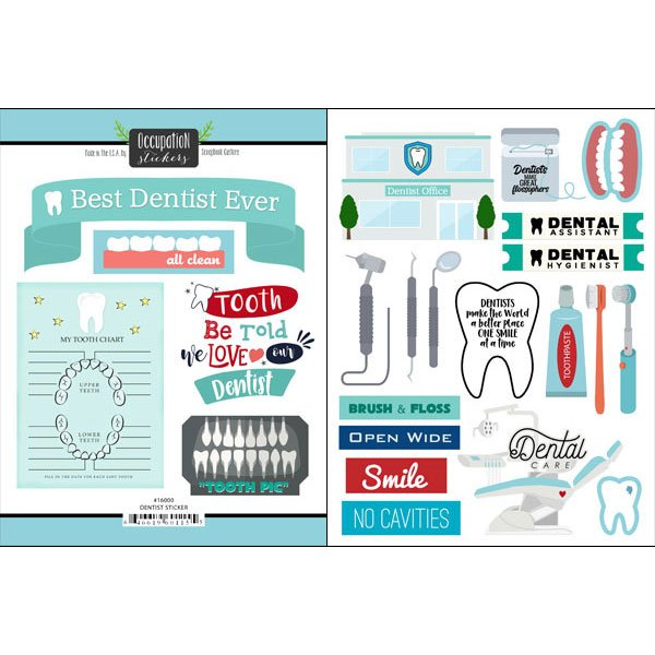 Dentist-Stickers