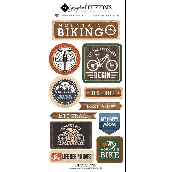 Life Is Better-Mountain Biking Stickers