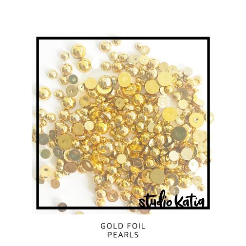 Studio Katia Pearls-Gold Foil