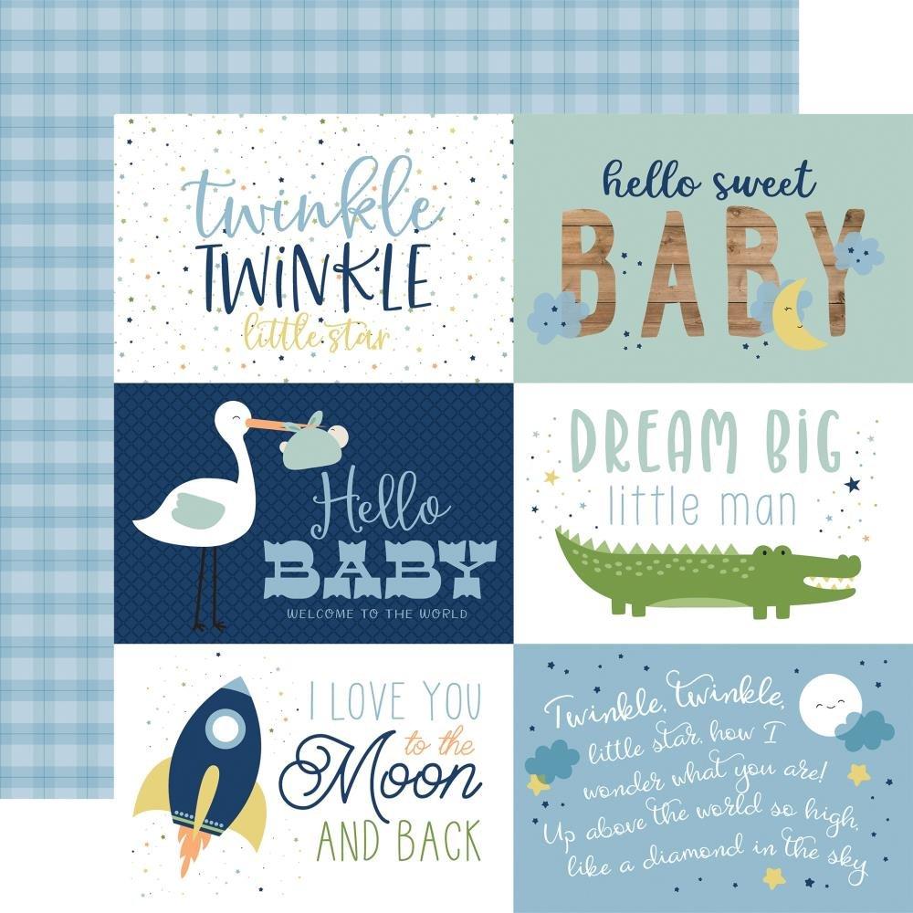 Baby Boy-6x4 Journaling Cards
