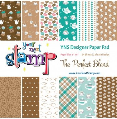 Your Next Stamp 6x6 Paper Pad-The Perfect Blend