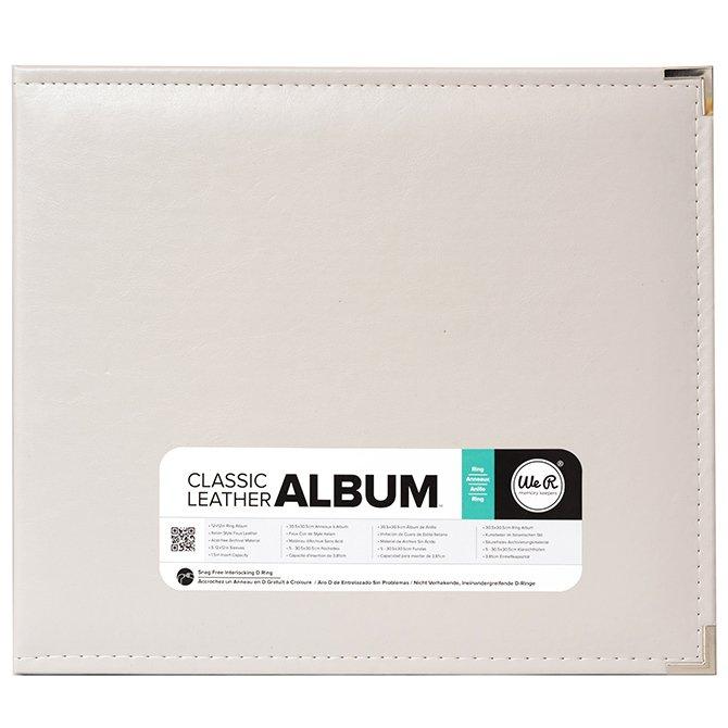 We R Memory Keepers 12x12 Album-Greige