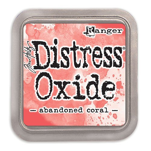 Tim Holtz Distress Oxide Ink-Abandoned Coral