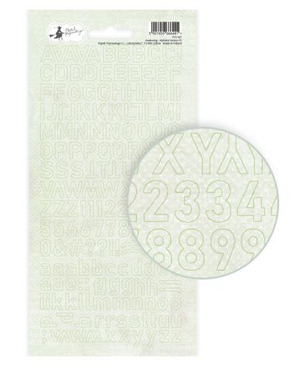 Awakening Alphabet Stickers-Green