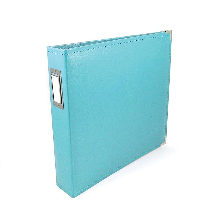 We R Memory Keepers 12x12 Album-Aqua