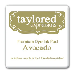 Taylored Expressions Ink Cube-Avocado