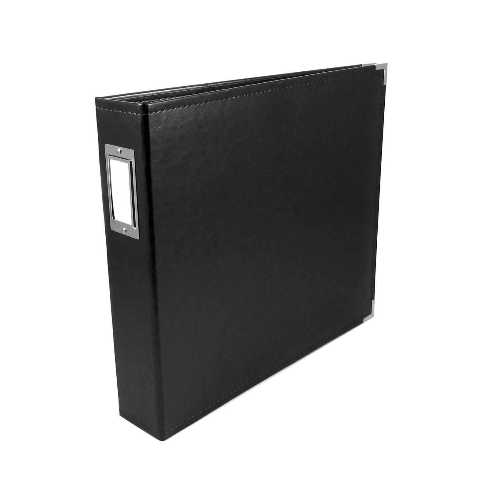 We R Memory Keepers 12x12 Album-Black