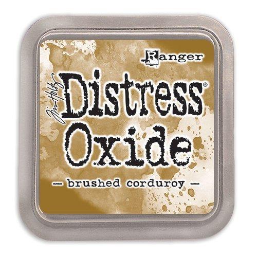 Tim Holtz Distress Oxide Ink-Brushed Corduroy
