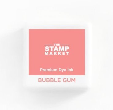 The Stamp Market Ink Cube-Bubble Gum
